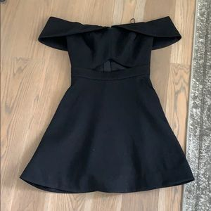 Black mini Keepsake dress